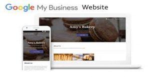 Google My Business Website - Google Account - Google
