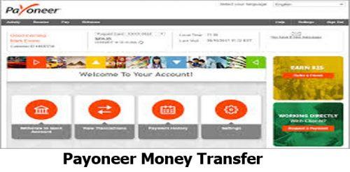 Payoneer Money Transfer - Payoneer Account