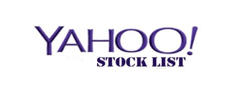 Yahoo Stock List - Yahoo Finance Cryptocurrencies