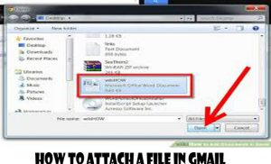 How to Attach a File in Gmail - Gmail Email Account