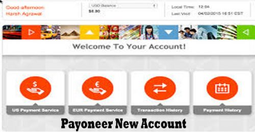 Payoneer New Account - Payoneer Account