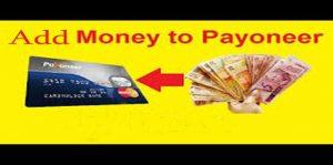 Add Money to Payoneer - Payoneer Account
