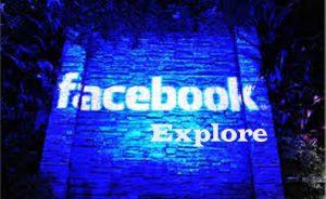 Facebook Explore - Links on the Facebook Explore