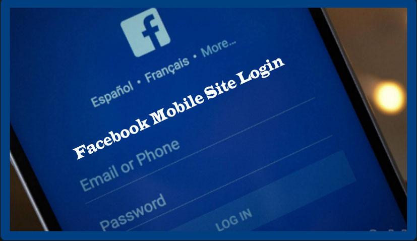 Facebook Mobile Site Login