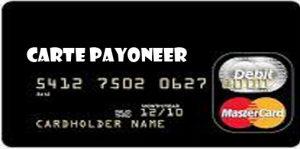 Carte Payoneer - Payoneer Account with Card