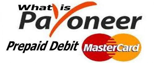 What Is Payoneer Prepaid Debit MasterCard