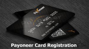 Payoneer Card Registration - Payoneer MasterCard