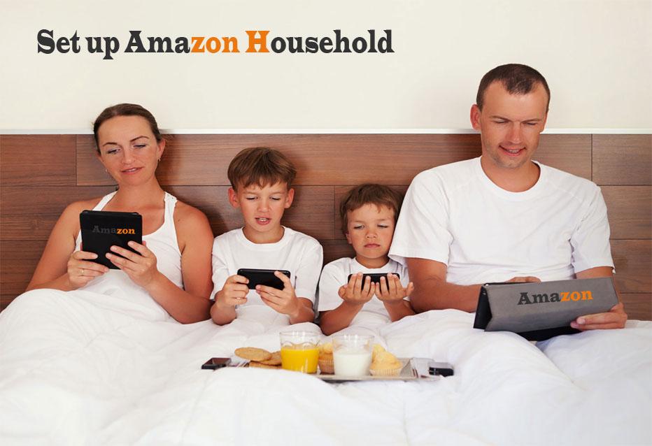 Set up Amazon Household