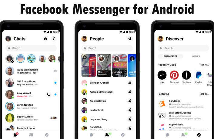 Facebook Messenger for Android - Download Facebook Messenger App