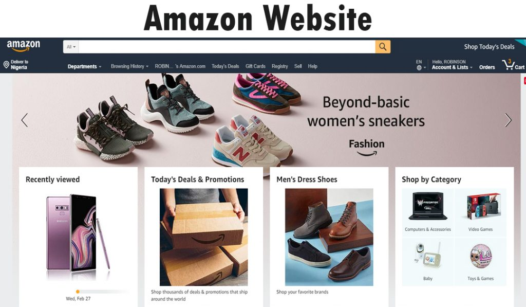 How to Buy an Item on the Amazon Website