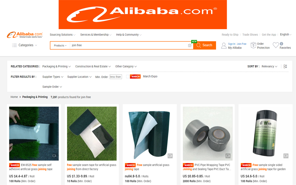 Join Free Alibaba