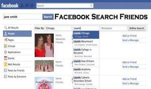 Facebook Search Friends - Facebook Account