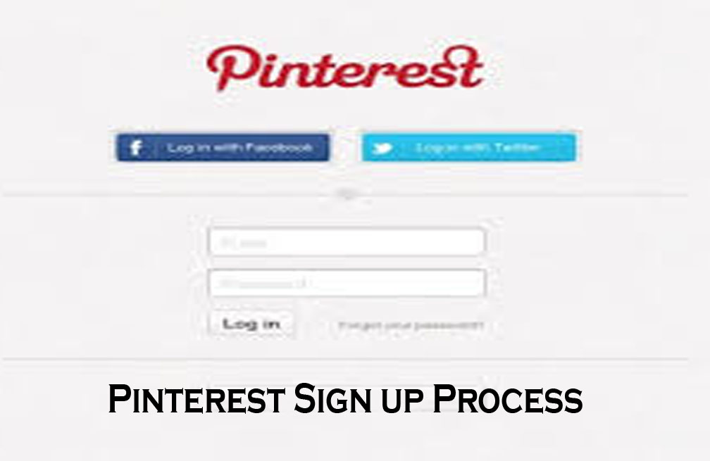 Pinterest Sign up Process