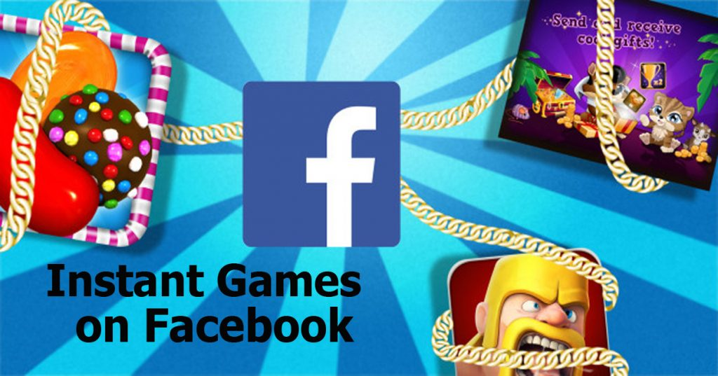 Instant Games on Facebook- Facebook Gameroom