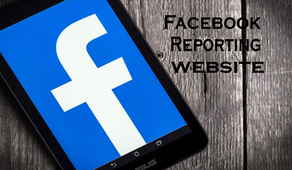 Facebook Reporting Website