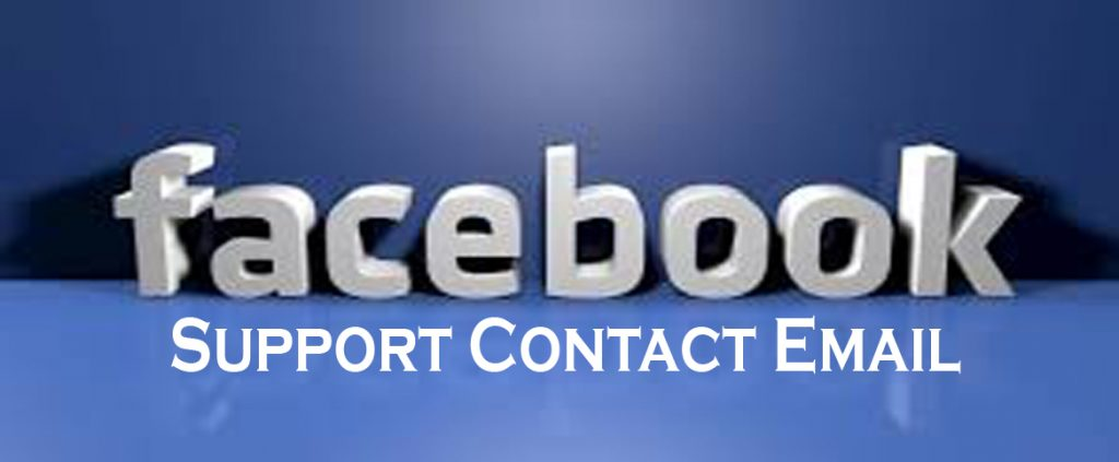 Facebook Support Contact Email