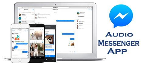 Audio Messenger App - The Facebook Messenger
