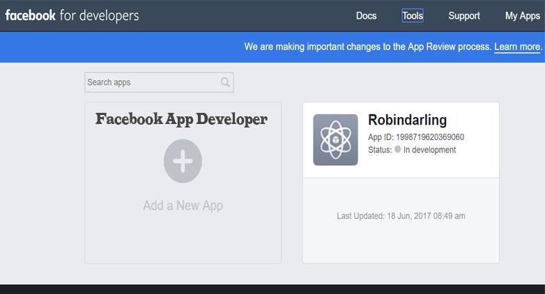 Facebook App Developer - Facebook for Developer