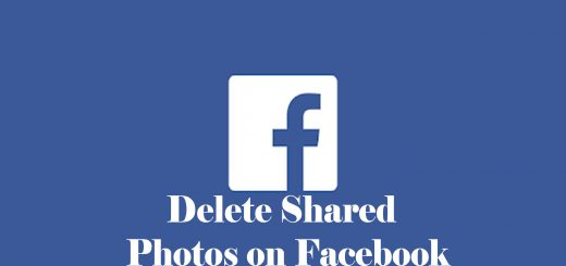 Delete Shared Photos on Facebook