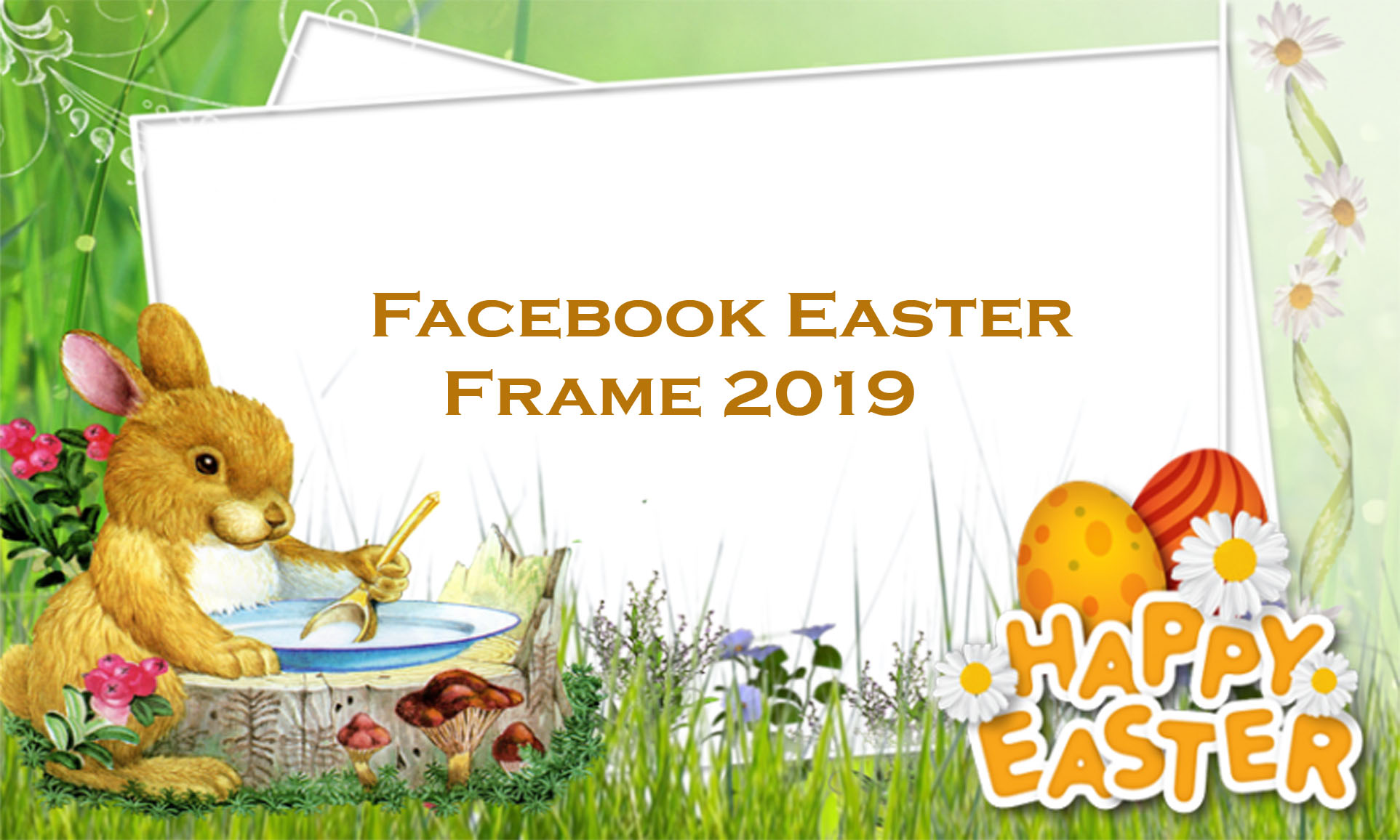 Facebook Easter Frame 2019 - Facebook Frames