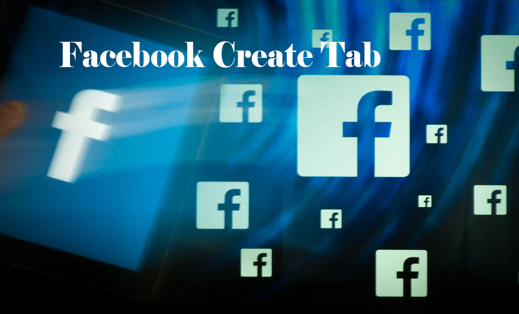 Facebook Create Tab - Facebook Account