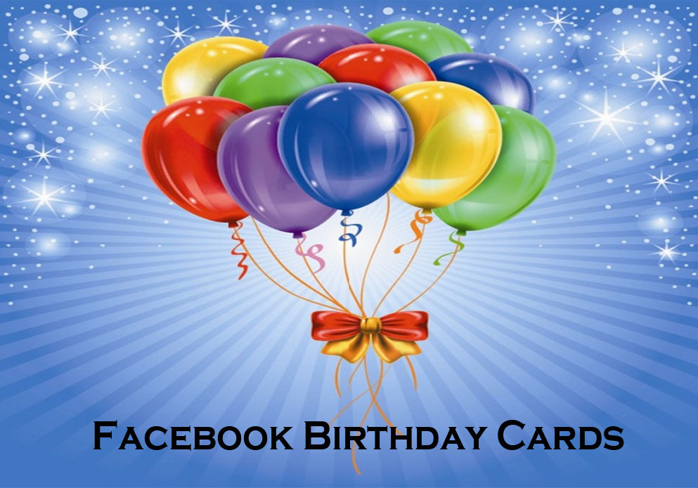 Facebook Birthday Cards
