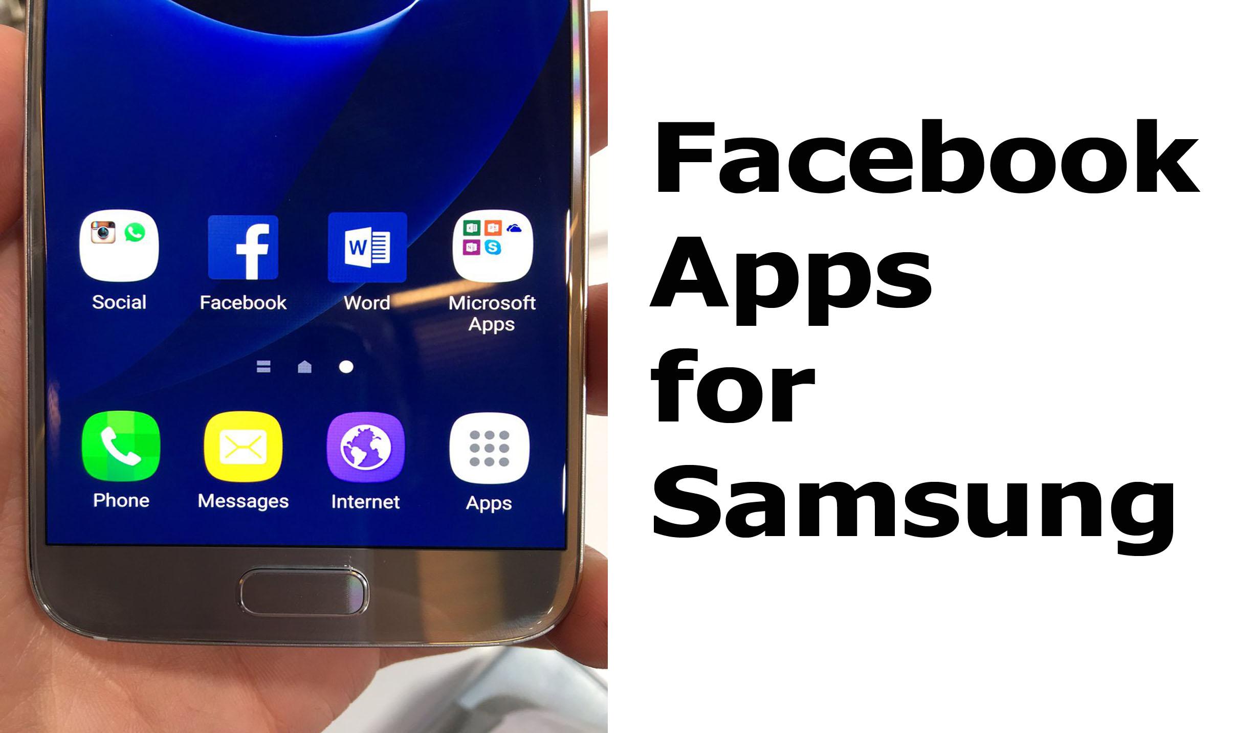 Facebook Apps for Samsung - Download Facebook Apps For