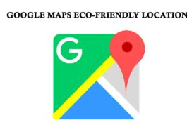 Eco-Friendly Locations and Businesses are shown on Google Maps