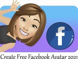Create Free Facebook Avatar 2021